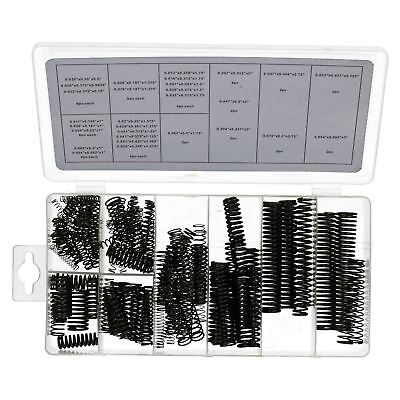 Extension Finishing Tool (114pc Compression Spring Extension Tension Extended Springs Coil Black)