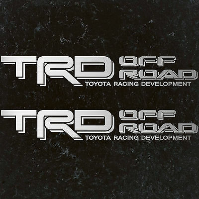 Toyota tacoma TRD SPORT decal sticker CALI EDITION 4x4 Tundra Off Road Baja