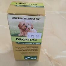 CLEARANCE SALE DRONTAL WORMING LIQUID FOR PUPPIES Maddington Gosnells Area Preview