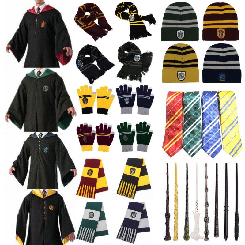 Harry Potter Gryffindor Hufflepuff Slytherin Ravenclaw Kostüm Kinder Erwachsene