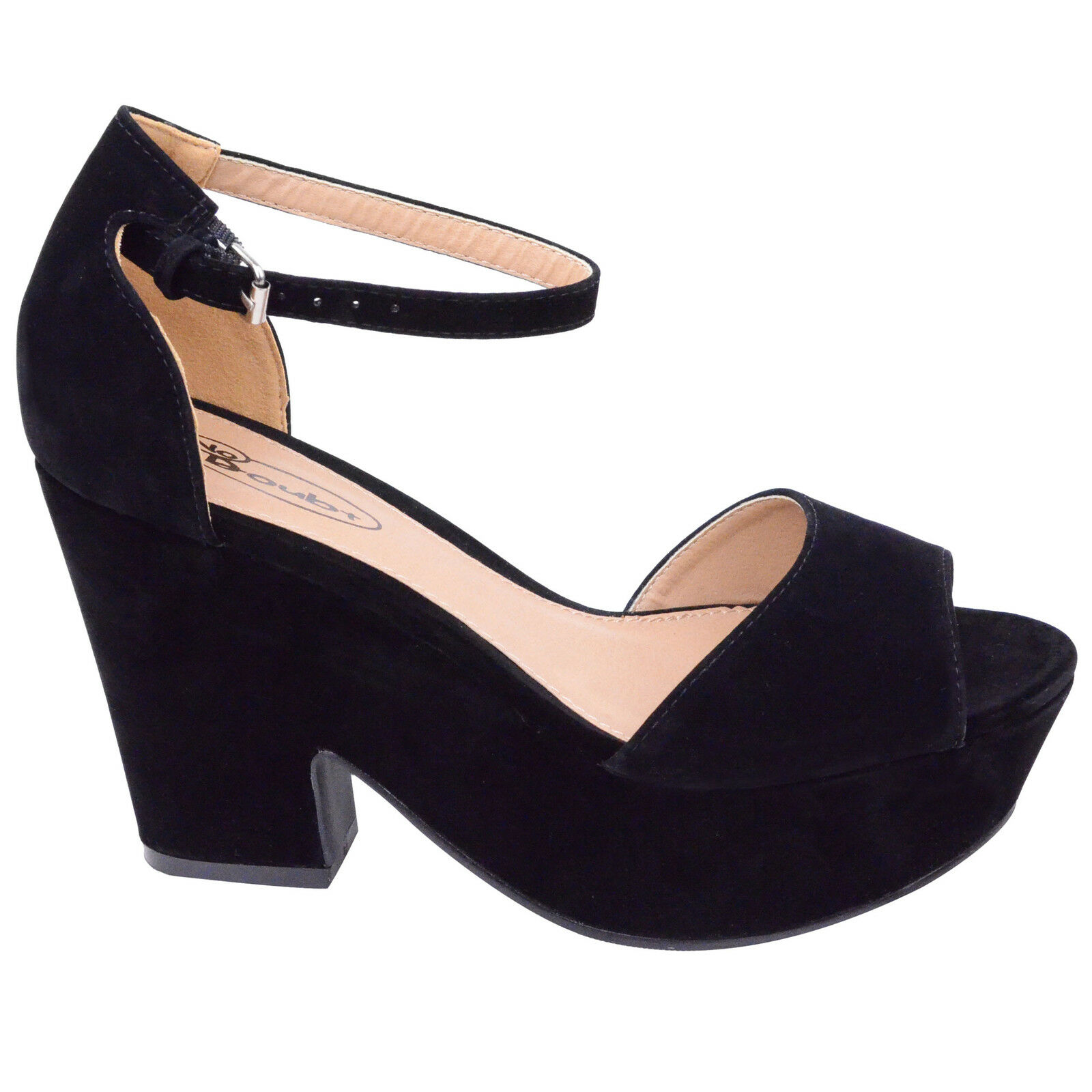 Black Ankle Strap Shoes | Heels | eBay