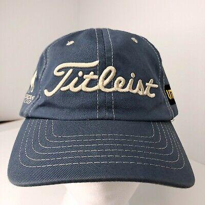 Titleist Contrast Stitch Adjustable Strapback Golf -