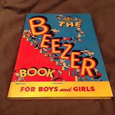 The Beezer Book Annual 1958 Amazing condition MUST LOOK