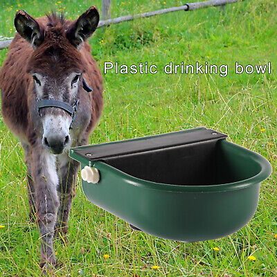 Cattle Water Bowl With Float Valve Auto Fill Waterer Pig Cow Sheep Farm Tool