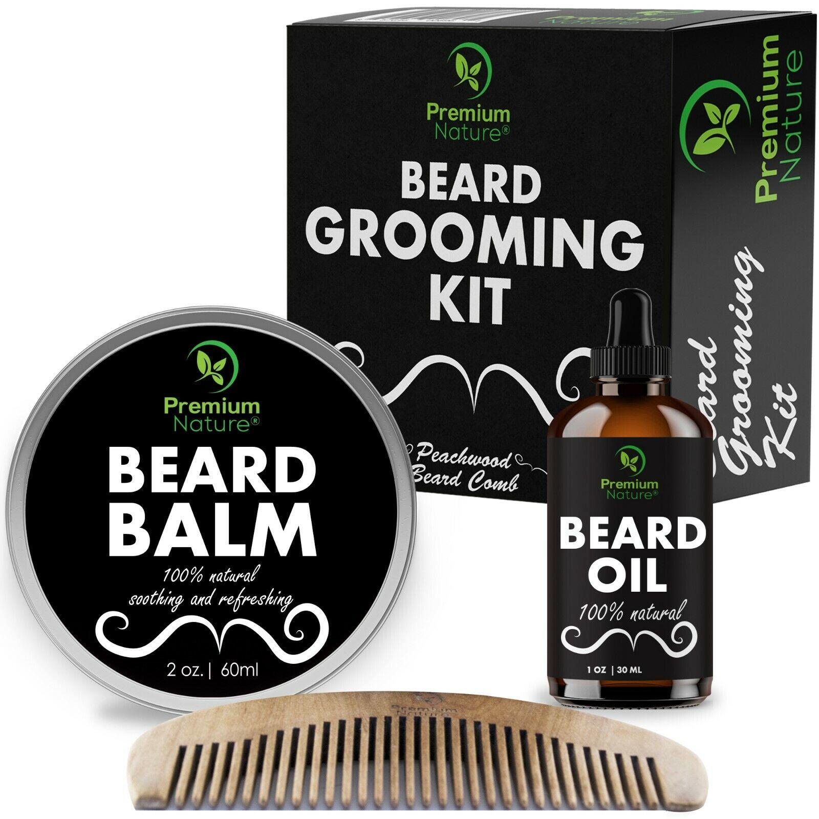 Beard Care Kit For Men Perfect Gift For Christmas For Husban