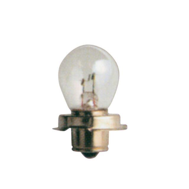 1x Ring P26S 12v 15w Motorcycle Headlamp Headlight Bulb - RMU610