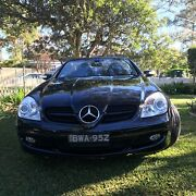 SLK200 Mercedes Benz - Black Coupe Chatswood Chatswood Willoughby Area Preview