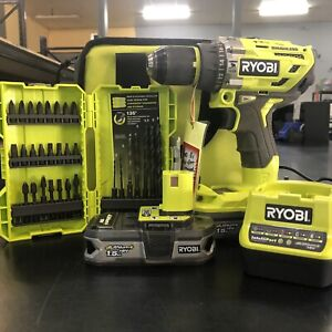 RYOBI ONE 18V CORDLESS DRILL PACK IN CARRY BAG