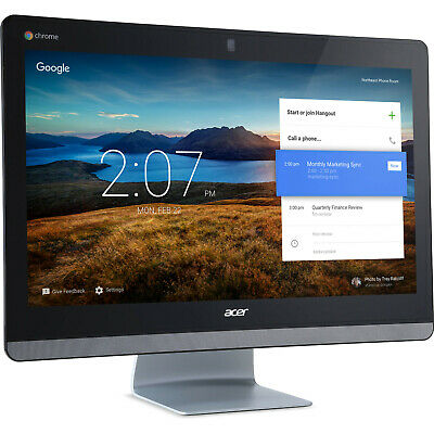 "Acer 23.8"" Chromebase Celeron 4215U 4GB RAM 16GB SSD Multi-Touch All-in-One PC"
