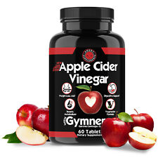 Weight Loss Apple Cider Vinegar w. Garcinia Pills ACV & CLA Fat Burner, 60 ct
