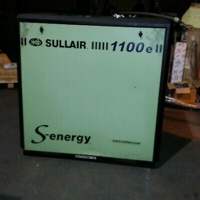 Sullair 1100e S-energy Air Compressor And Dryer