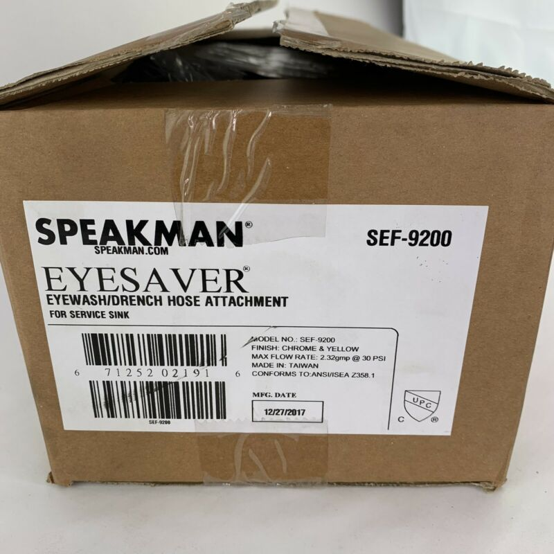 Speakman SEF-9200  Eyesaver Eyewash / Drench Hose Attachment for SC-5811-RCP