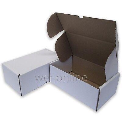 200 x Compact Postal Diecut Cardboard Cartons 12 x 10 x 4