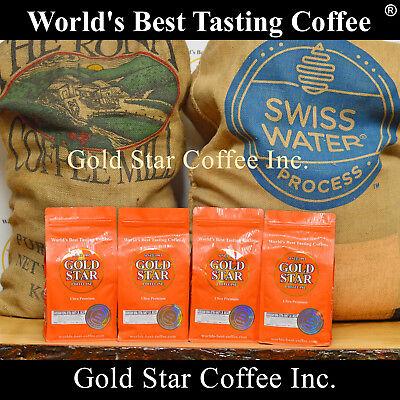 4 lb Hawaiian Kona Swiss Water Decaf coffee - Best Tasting Decaf in the (Best Tasting Decaf Coffee)