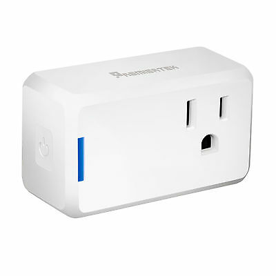 Premiertek Wi-Fi WiFi Mini Smart Plug Control from Anywhere, Work w/Alexa UL FCC