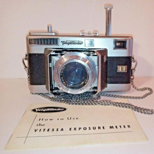 Voigtlander Vitessa Rengefinder Camera With Ultron 1:2 / 50 Lens VERY GOOD +++