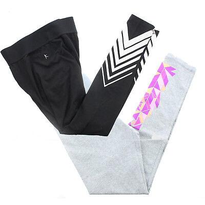 - Danskin Women's Workout Cotton Blend Yoga Pants, Printed Leggings, Black or Grey