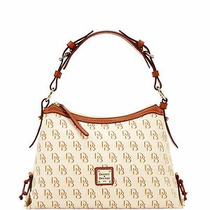 Dooney & Bourke Shadow DB Small East/West Slouch, Be/Cc/Rd