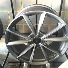 """19"""" inch Audi rs4 wheels machined grey s3 a3 a4 Rockdale Rockdale Area Preview"""