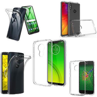 Handy Hülle Silikon Schutz TPU Case FÜR Motorola Moto G7 G6 G5 Plus G4 One Power