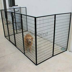 Pet Puppy Dog Fencing Wall Fence Attachable Super Heavyduty Free Post