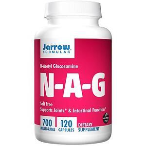 JARROW N-A-G 700 - 120 x 700mg Caps - N-Acetyl Glucosamine (NAG) - Joint Health