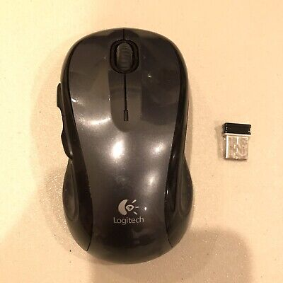 Logitech M510 Wireless Computer Mouse Gray WITH USB Receiver 810-001724
