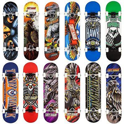 Beginner Skateboards (Tony Hawk 2019 Complete Skateboard Beginner to Pro 7.5/7.75/8.0 Sizes)
