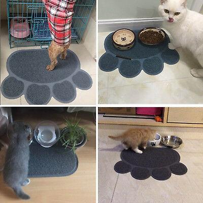 Pet Cat Litter Pad Mat Toilet Tray Pad Kitten Paw Cleaning Floor Dust Catcher - Litter Box Dust