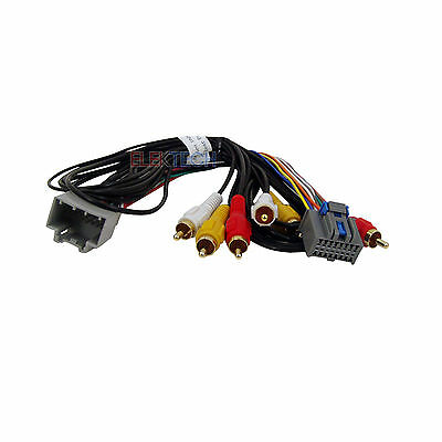 Car Radio Audio/Video Rear Entertainment System Retention Harness for GM Vehicle