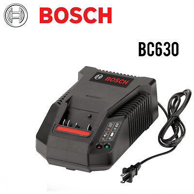 BOSCH BC630 14.4-18V Lithium-Ion 30 Min Battery Charger 110V NEW w/FULL - 30 Min Battery Charger