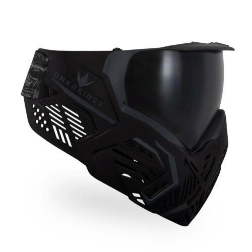 Bunkerkings CMD Paintball Goggle / Mask - Black Samurai