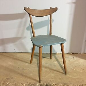 Mid century timber chair Salisbury Brisbane South West Preview