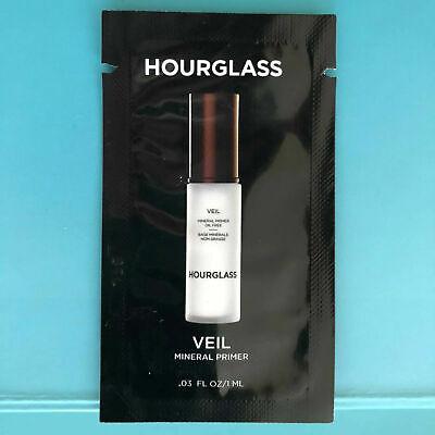 NEW & SEALED Hourglass Veil Mineral Primer Sample Trial Foil Packet .03oz 1 mL