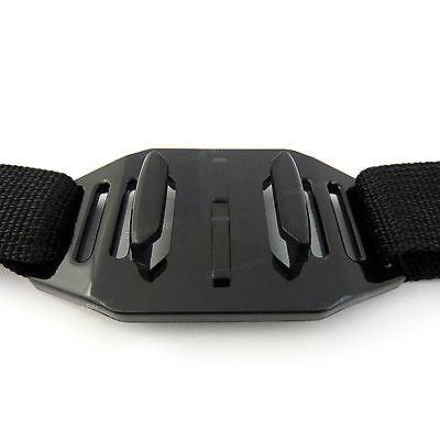 Perforato Casco Fascetta per la Testa Supporto Bici Moto Gopro Hero 3 4 5 6 7