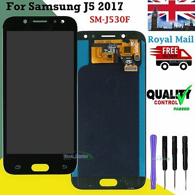 For Samsung Galaxy J5 2017 J530F LCD Screen Touch Display Black Replacement UK comprar usado  Enviando para Brazil
