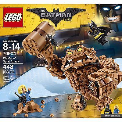BRAND NEW! LEGO Batman Movie - Clayface Splat Attack (70904) 448 pieces!