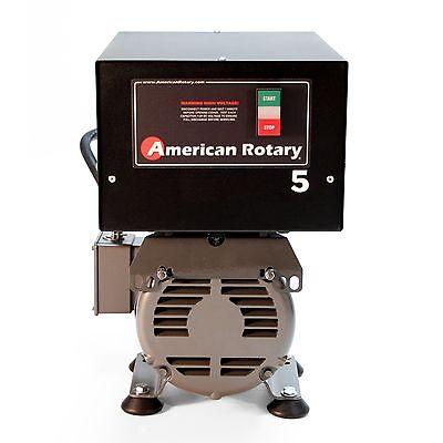 American Rotary Phase Converter AR5F - Floor Unit 5HP Heavy Duty HD CNC, USA