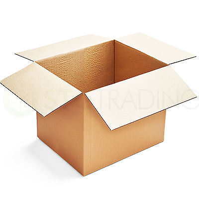 10 x Postal Packing/Moving Cardboard Boxes 20x16x16