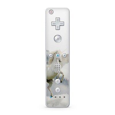 Nintendo Wii Remote Controller Skin Aufkleber Schutzfolie Vinyl Sticker Unicorn ()