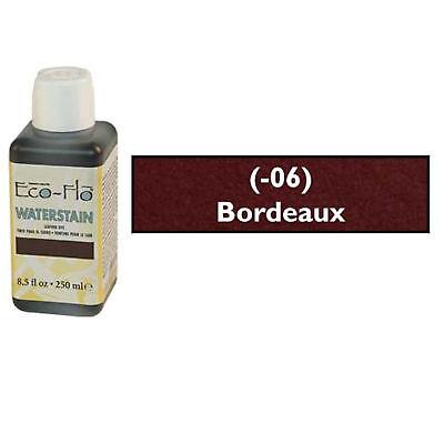 Eco-Flo Pro Waterstain Bordeaux 250 ml (8.5 fl oz.) Blended Natural Waxes