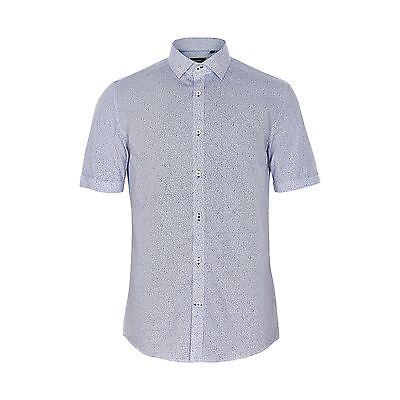 Matinique Trostol Summer Print Shirt/White - 2XL CLEARANCE