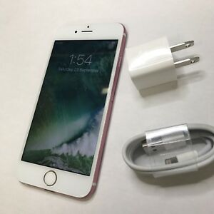 iPhone 6 - Factory Unlocked - 16GB - Pink & White - 10/10