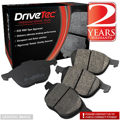 Front Drivetec Brake Pads Citroën Saxo 1.0 X 1.1 Bi-Fuel 1.1 X,SX 1.4 VTS 1.5 D