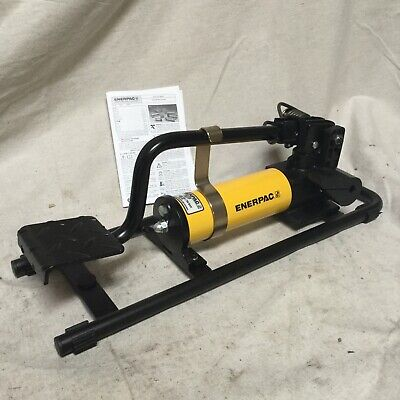 Enerpac P-392fp 24 18 In X 7 34 In X 18 38 In 2 Stage Hydraulic Foot Pump