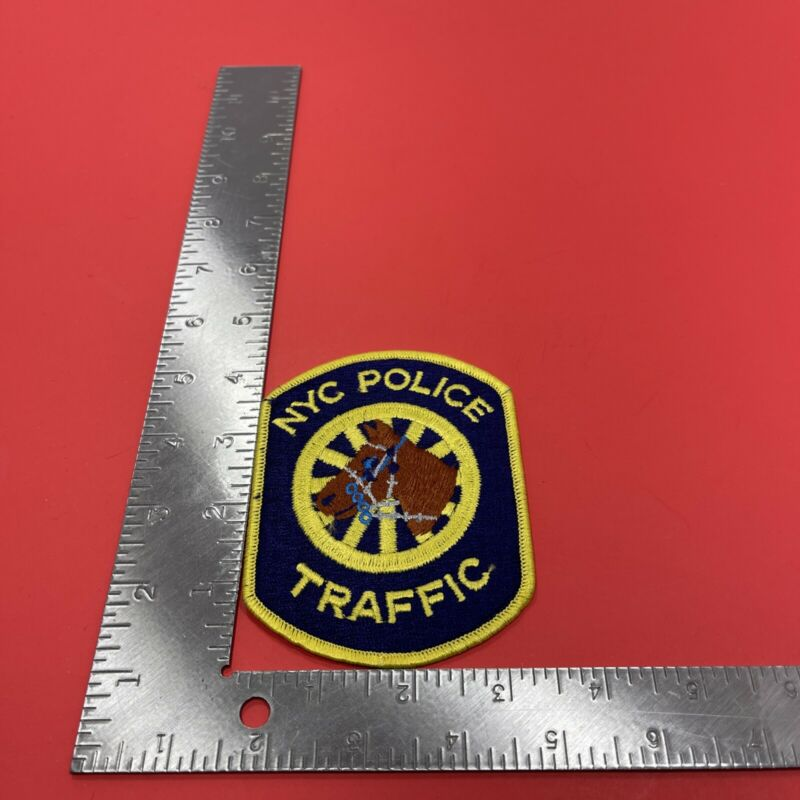 New York City Police Traffic Division Uniform Patch
