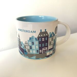 Starbucks City Mug Cup You Are Here Series YAH Amsterdam