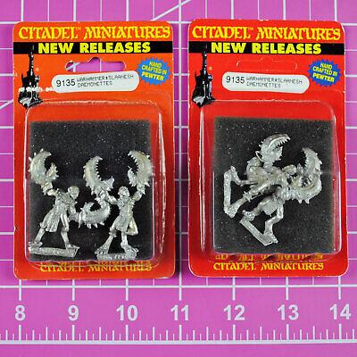 Warhammer Chaos Daemonettes of Slaanesh (2 Packs!) Metal, OOP Citadel Daemonette for sale  USA