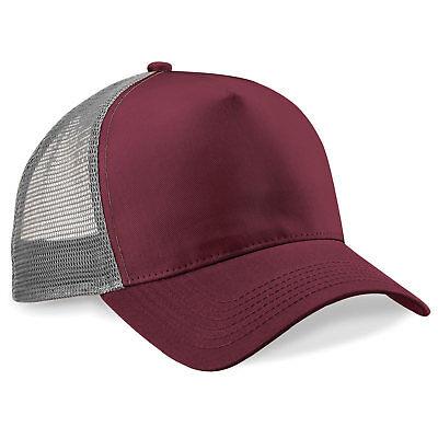 Beechfield Basecap  Cap Kappe Trucker Mesh Klassiker Kunststoffverschluss NEU
