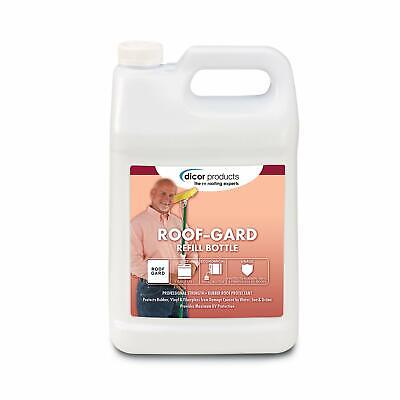Dicor Roof-gard Rubber Roof Coilsurface Protectant 1 Gallon Rp-rg-1gl